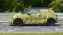 MINI Cooper S prototype spy photo