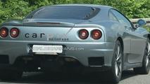 New Ferrari Test Mule First Spy Photos