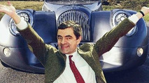 Mr Bean with Austin Mini