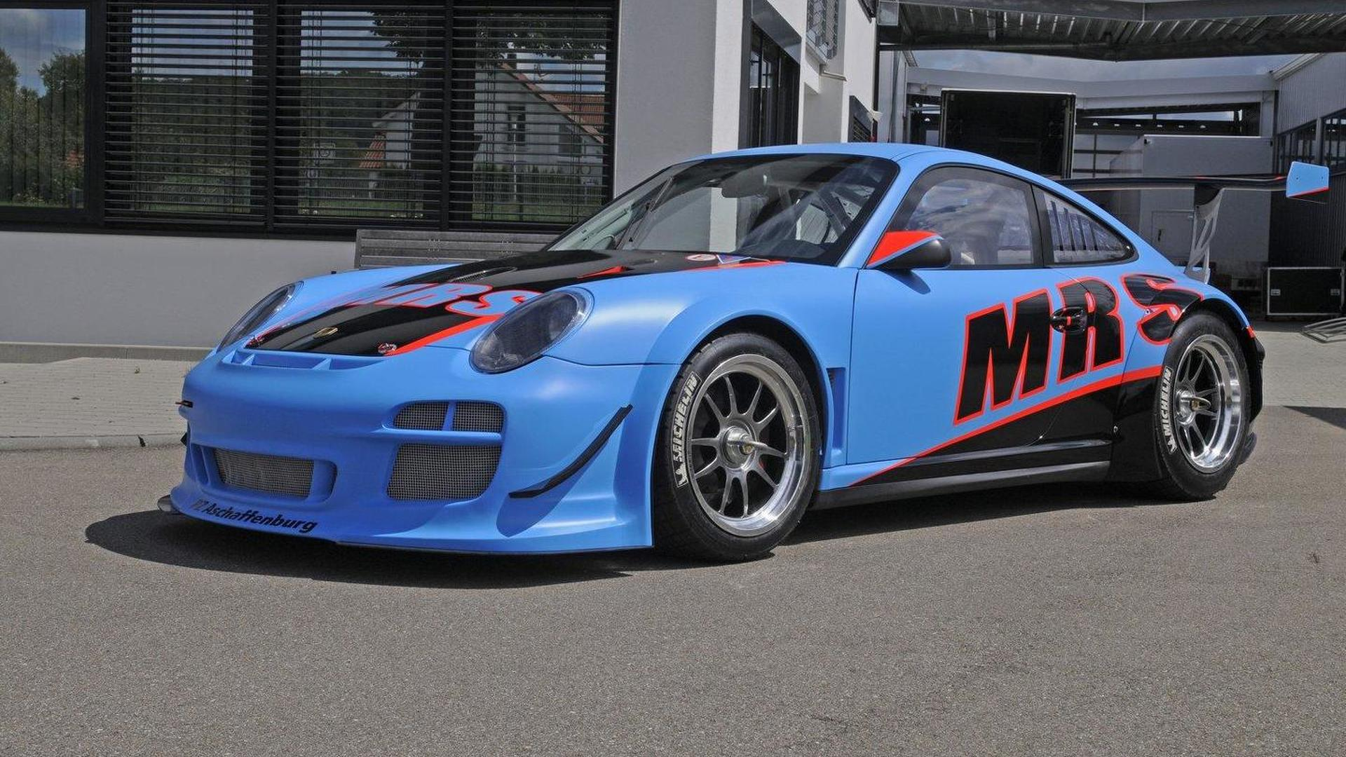 Photo Appreciation: The team MRS Porsche GT3 R for the ADAC GT Masters