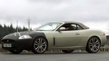 Jaguar XK-R Convertible Spy Photos