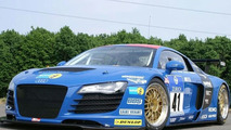Audi R8 Race Car to Participate in 24-hour Nurburgring Race