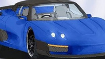 Artist's representation of the Salica GT shows its mean new looks