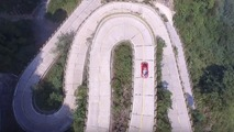 Watch a Ferrari 458 blitz a 99-turn mountain pass