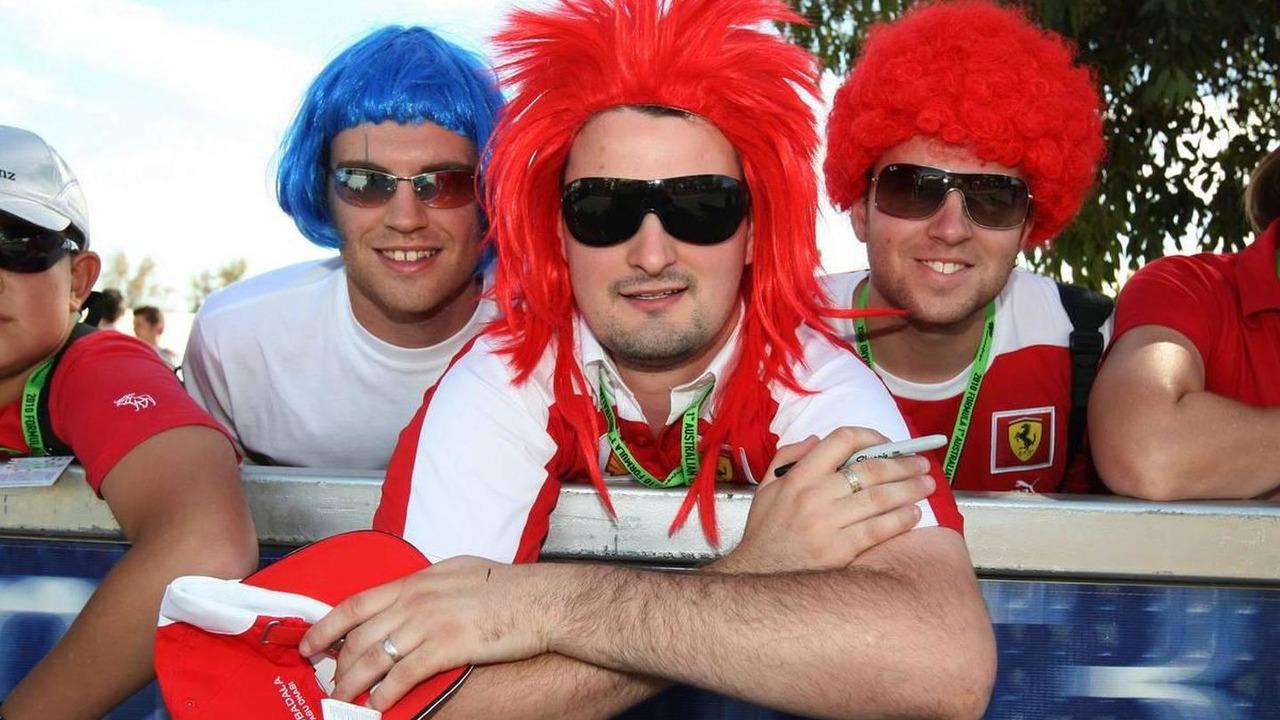 Australia, Fans, Australian Grand Prix, 26.03.2010 Melbourne, Australia