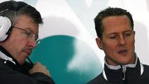 Schumacher might not be title contender - Brawn