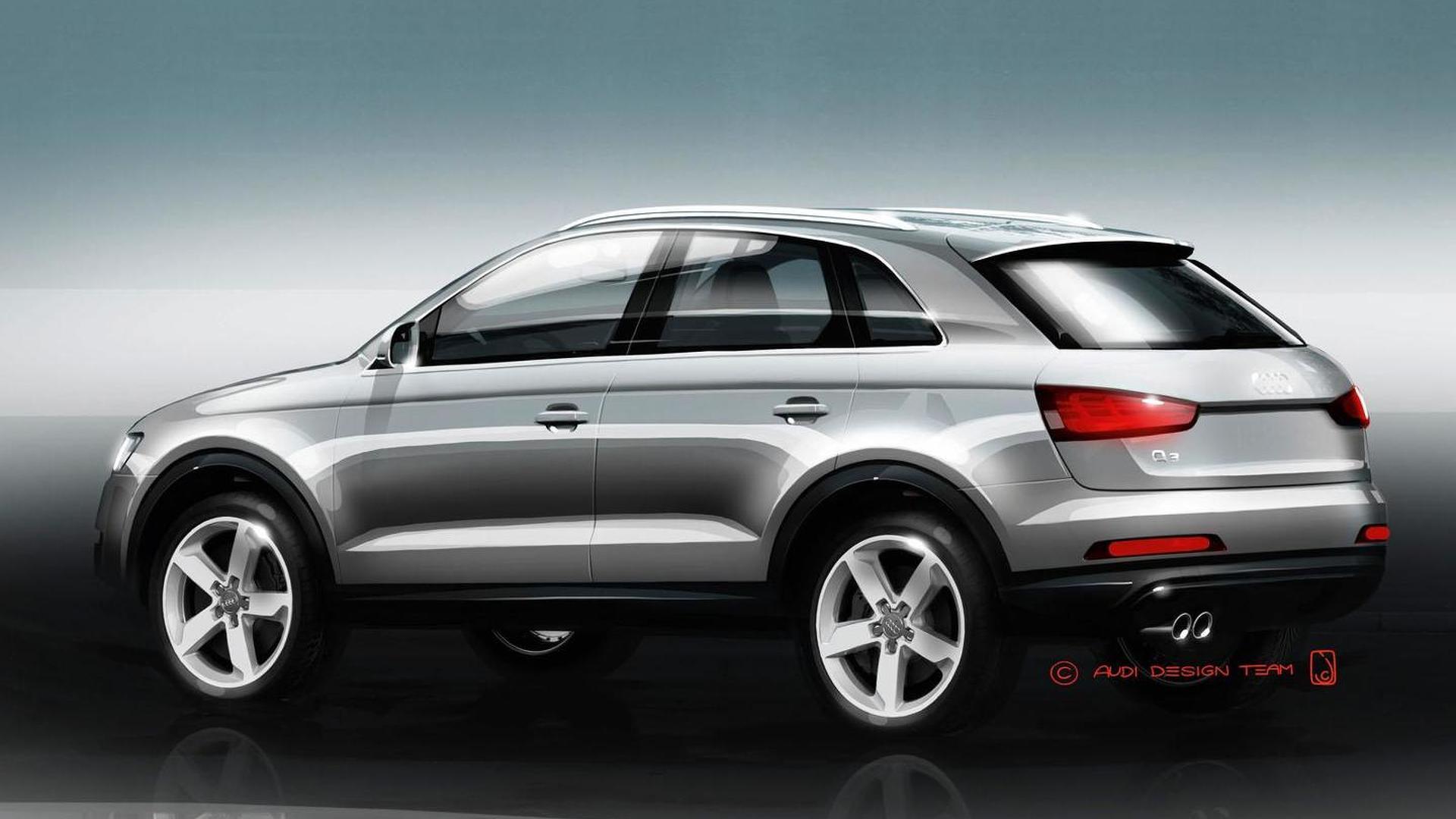 2012 Audi Q3 unveiled [video]