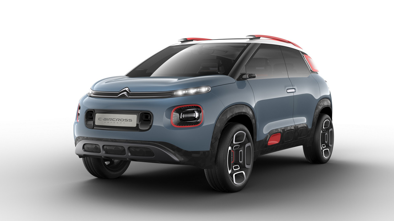 citroen c3 aircross c aircross concept 2017. Black Bedroom Furniture Sets. Home Design Ideas