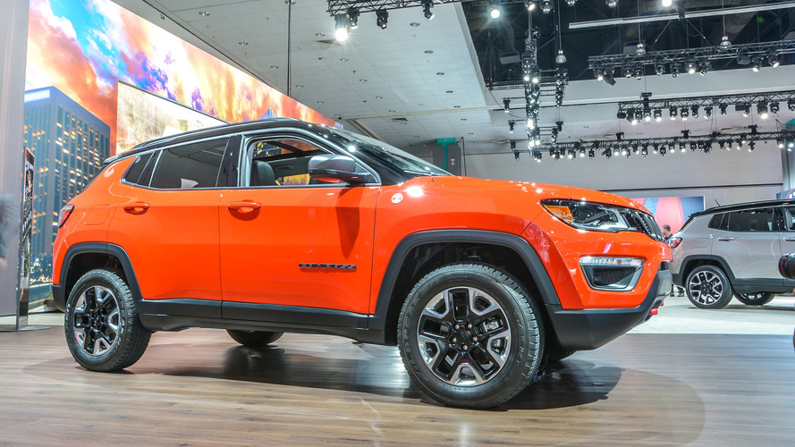 2017 Jeep Compass makes U.S. debut with 180 hp, up to 30 mpg