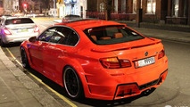 BMW M5 Mi5Sion by Hamann stands out in London