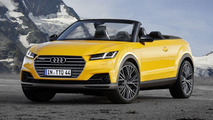Audi TTQ Roadster render shows Range Rover Evoque Convertible rival that won't happen