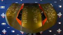 Autographed hood from 2016 MLB All-Star Game