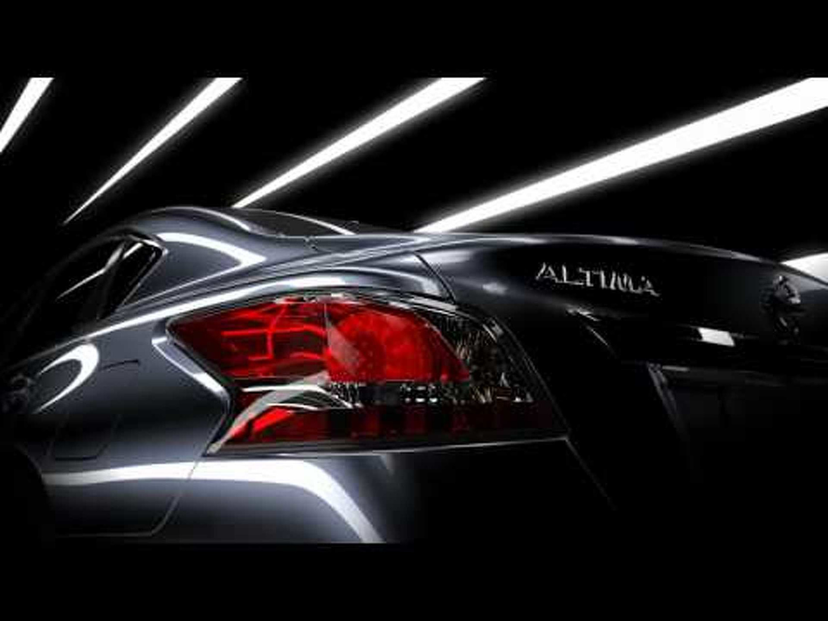 2013 Nissan Altima Teaser - Rear