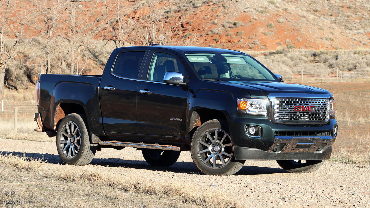 Gmc Canyon Denali >> 2017 GMC Canyon Denali Review: What am I paying for, again?