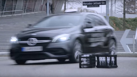 Watch Mick Schumacher Scare His Driving Instructor In Mercedes A45