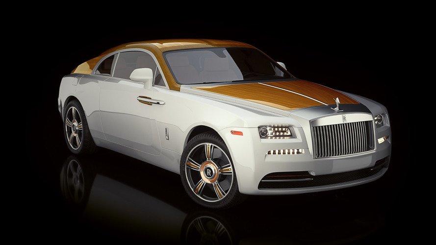 $1M Rolls-Royce Wraith with wood paneling is like a yacht on wheels
