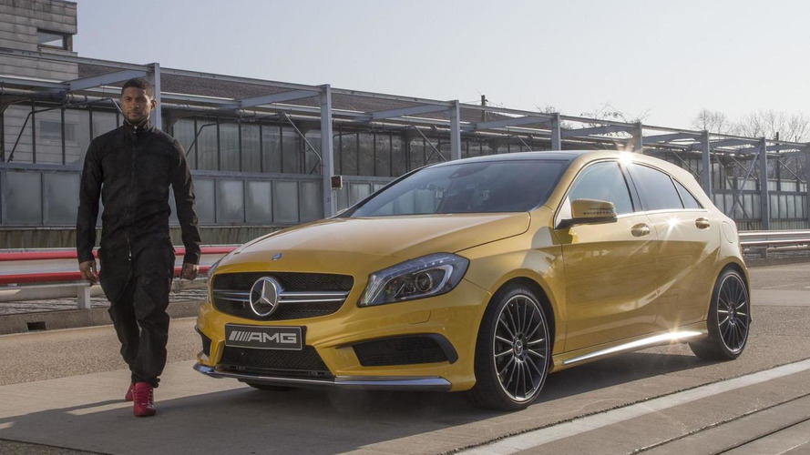 Mercedes enlists Usher to promote the A45 AMG