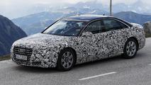 2015 Audi A8 facelift spy photo 22.05.2013
