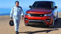 2014 Range Rover Sport sets production SUV record at Pikes Peak [video added]