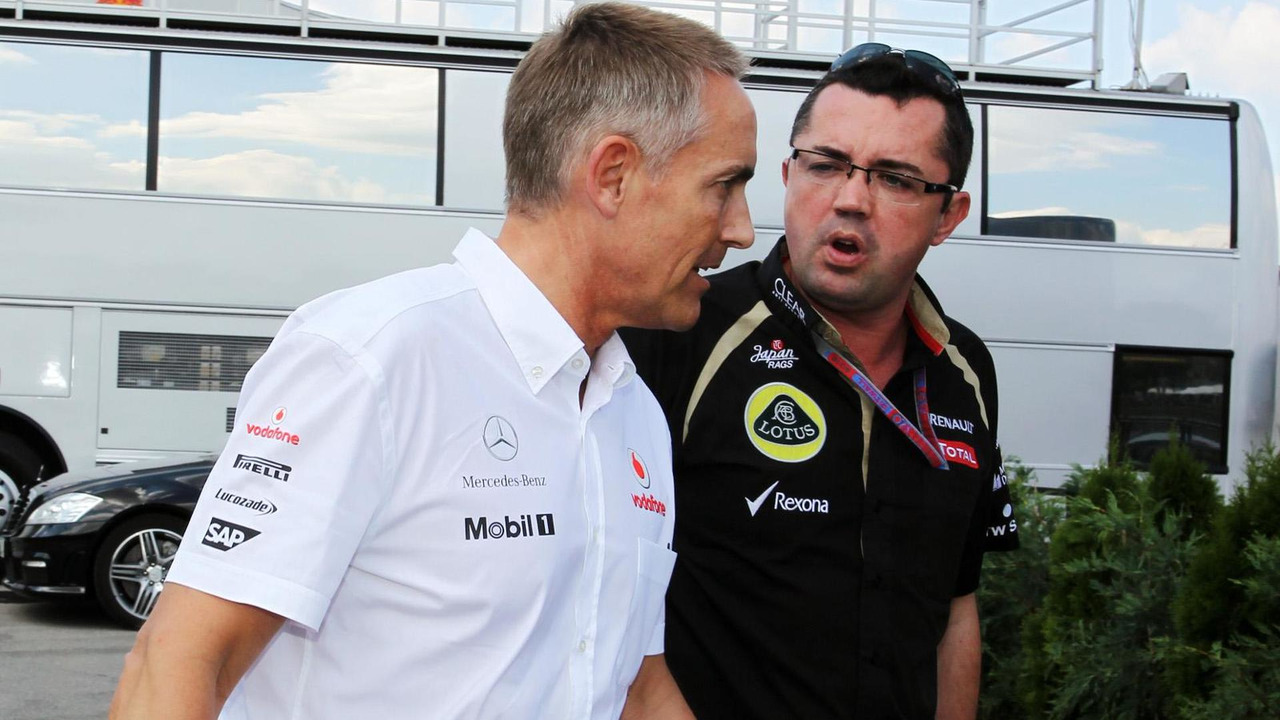 Martin Whitmarsh and Eric Boullier 27.07.2012 Hungarian Grand Prix