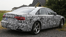 2014 Audi A8 facelift spy photo 24.7.2013