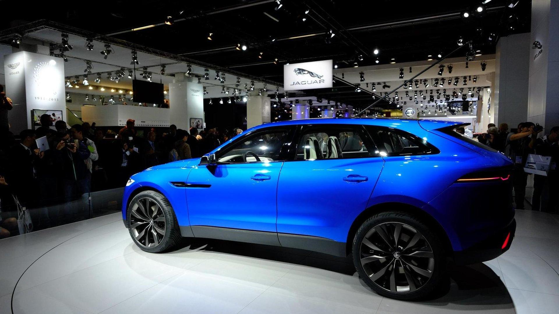 Jaguar C-X17 concept shown in the metal [video]