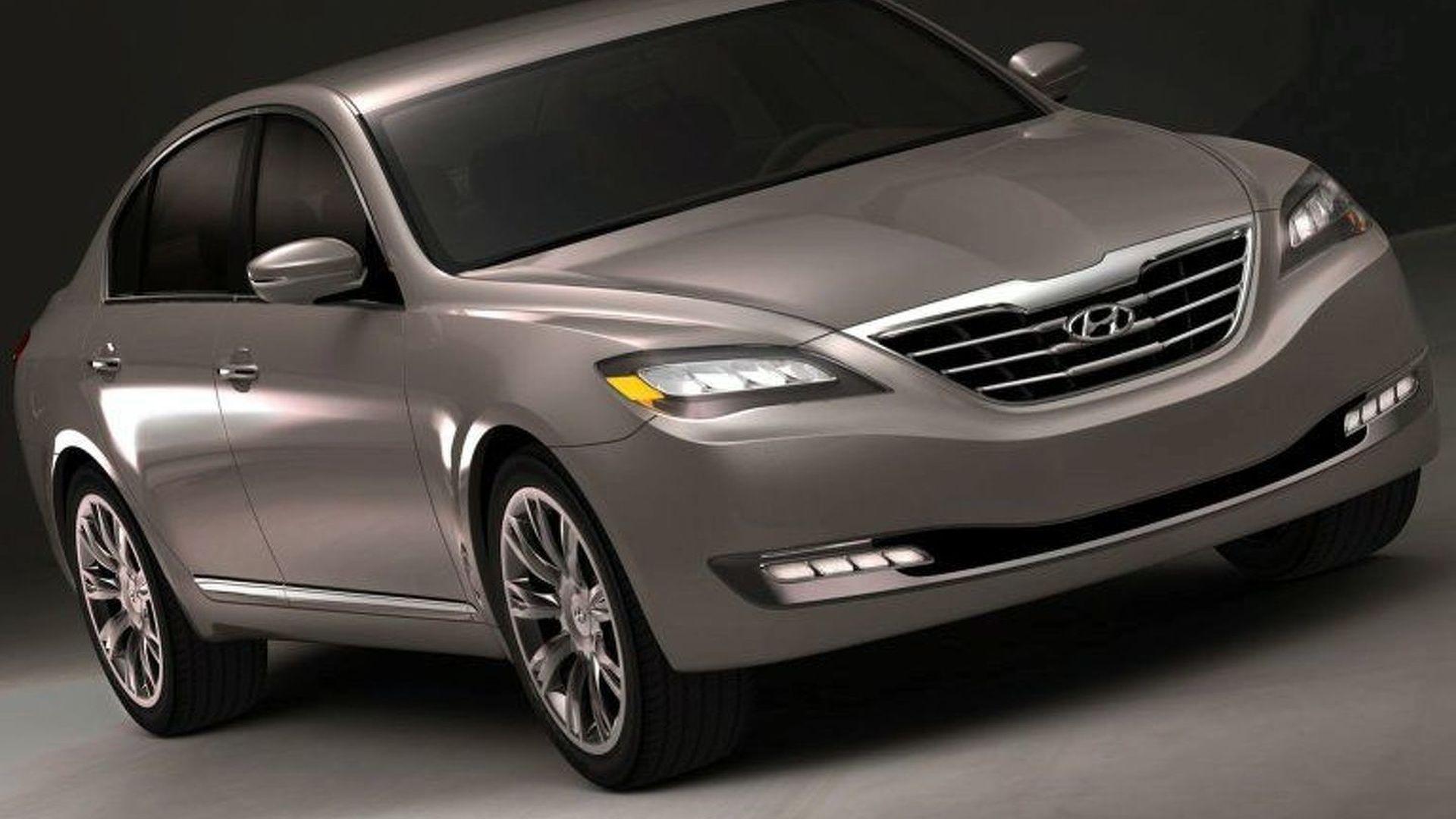 Hyundai Concept Genesis: Details Released