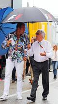 'Free man' Ecclestone goes back to work on F1