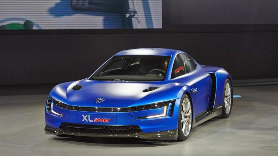 Volkswagen XL Sport is a quick yet frugal Ducati-powered concept