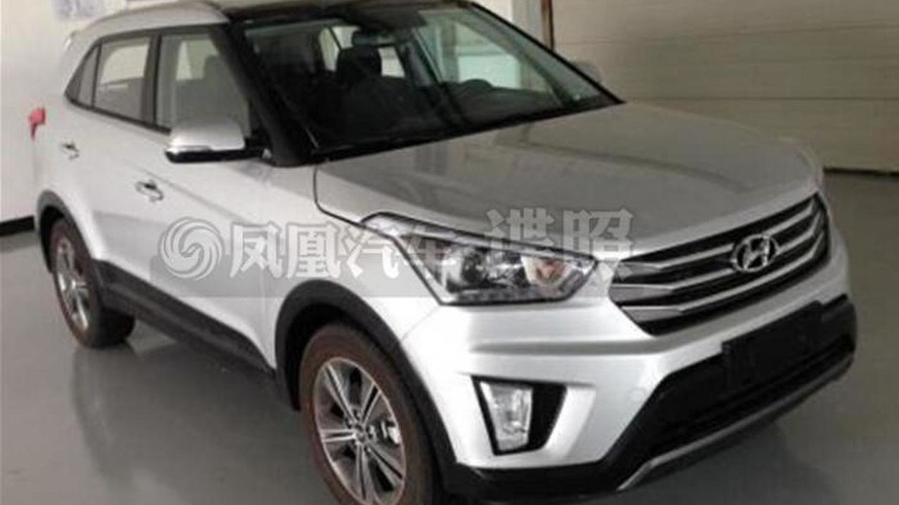 Hyundai ix25 spy photo