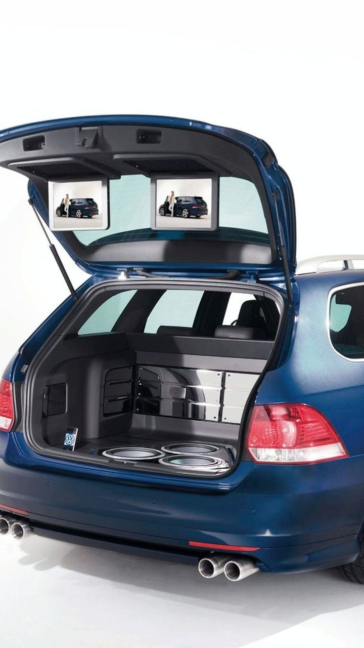 Volkswagen Golf Variant RaVe 270 Concept