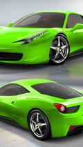 Ferrari 458 Italia - Lambo Verde Ithaca