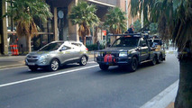 2011 Hyundai Tucson ix35 spied filming TV commercial in Sydney