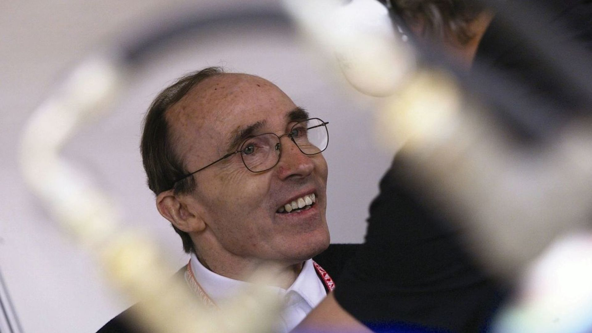 Frank Williams with Mercedes at DTM