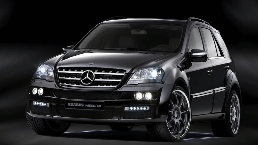 Brabus Presents Widestar Package for Updated Mercedes M-Class Facelift