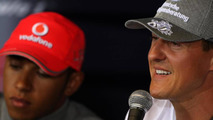 'No value' in beating Schumacher now - Hamilton