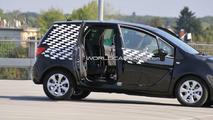 Opel Meriva Spied with FLEX Doors Wide Open