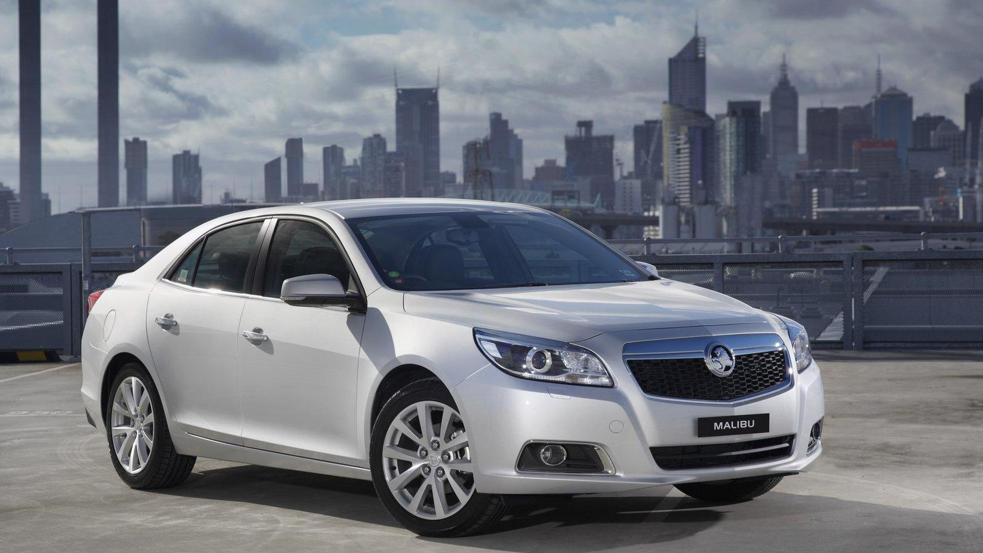 2013 Holden Malibu engine lineup announced