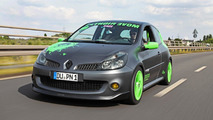 Renault Clio RS by Cam Shaft produces 222 hp