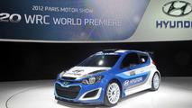 Hyundai i20 WRC live in Paris 27.09.2012