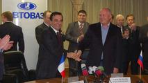Renault - AvtoVAZ MOU signing