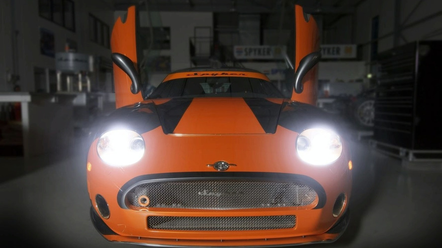 Spyker C8 Laviolette LM85 US debut in Los Angeles