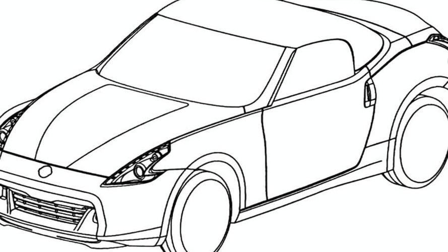 Nissan 370Z Roadster Design Sketches Leaked Via European Trademark Office