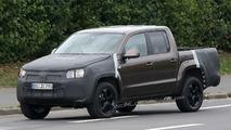 VW Amarok Pickup Spied in Most Revealing Shots Yet