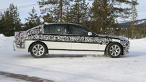 2011 BMW 5-Series Long Wheelbase Spied Winter Testing