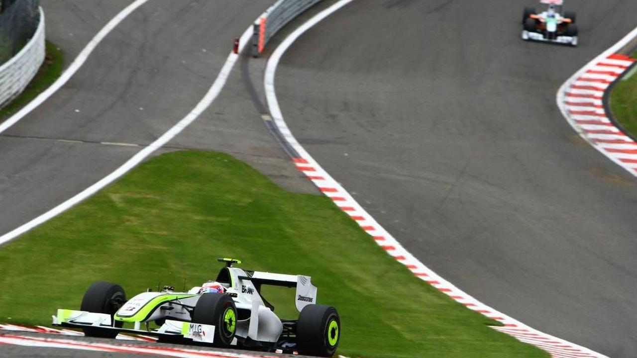 Rubens Barrichello (BRA), BrawnGP, BGP001, Belgian Grand Prix, 30.08.2009 Francorchamps, Belgium