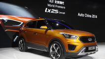 Hyundai ix25 concept revealed in Beijing