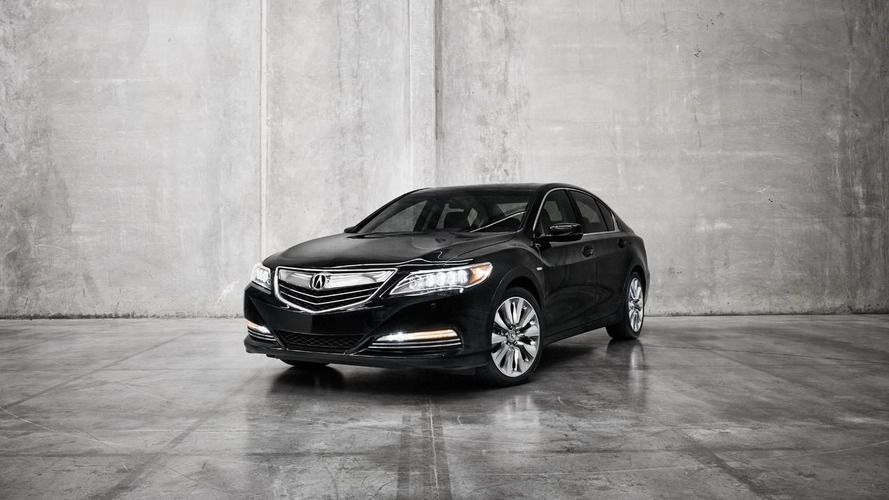 Acura RLX Sport Hybrid SH-AWD announced for the L.A. Auto Show