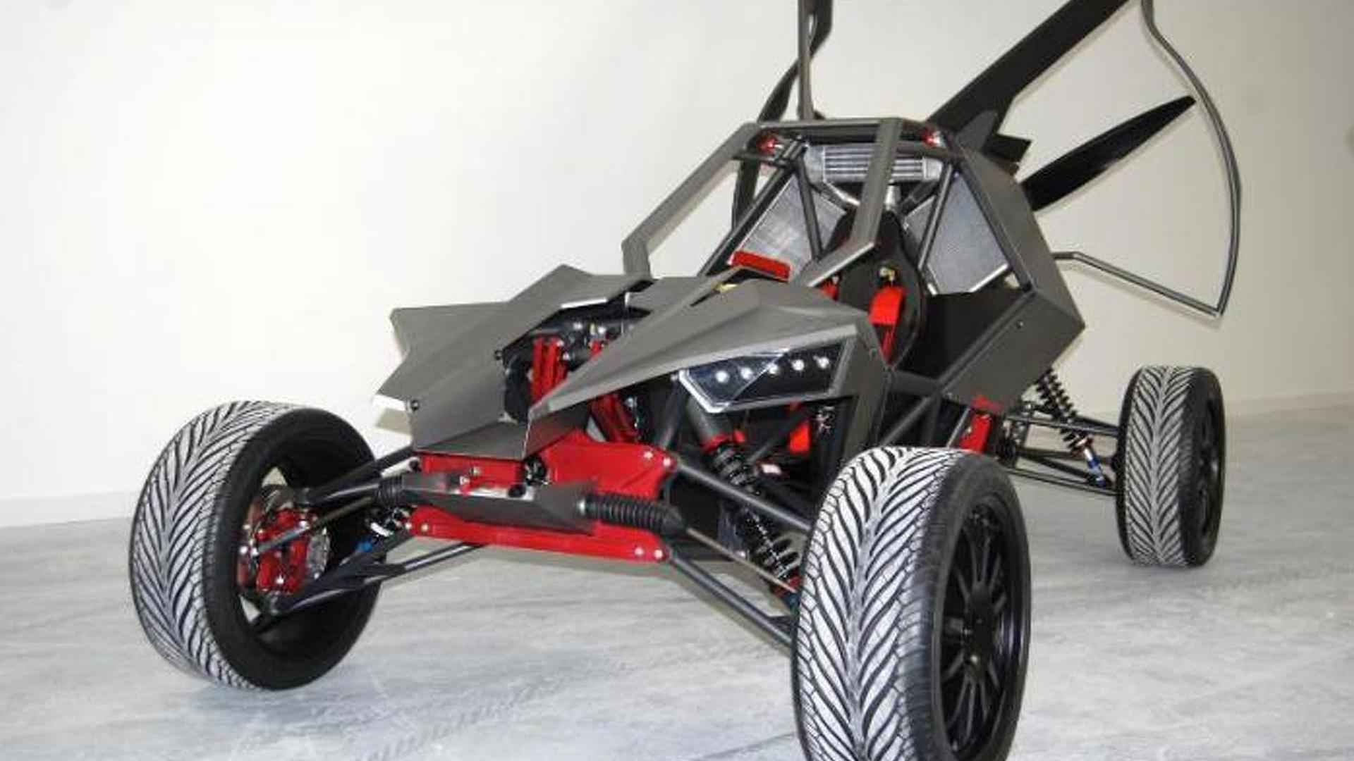EcoBoost-powered SkyRunner all-terrain flying car revealed