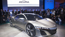 Acura NSX Concept live in Detroit 09.01.2012